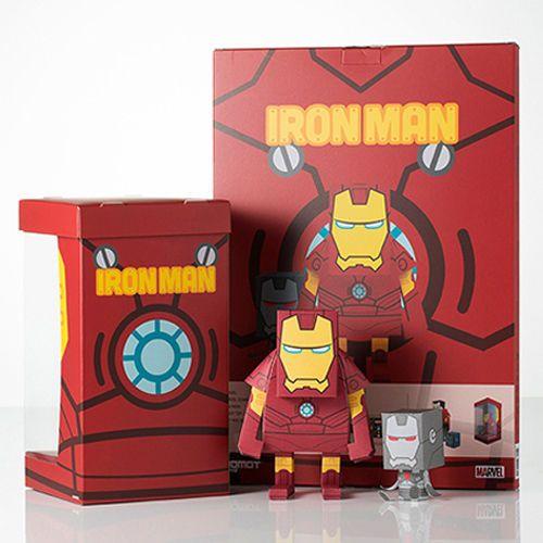 paper toy marvel iron man made in korea momot in toys hobbies