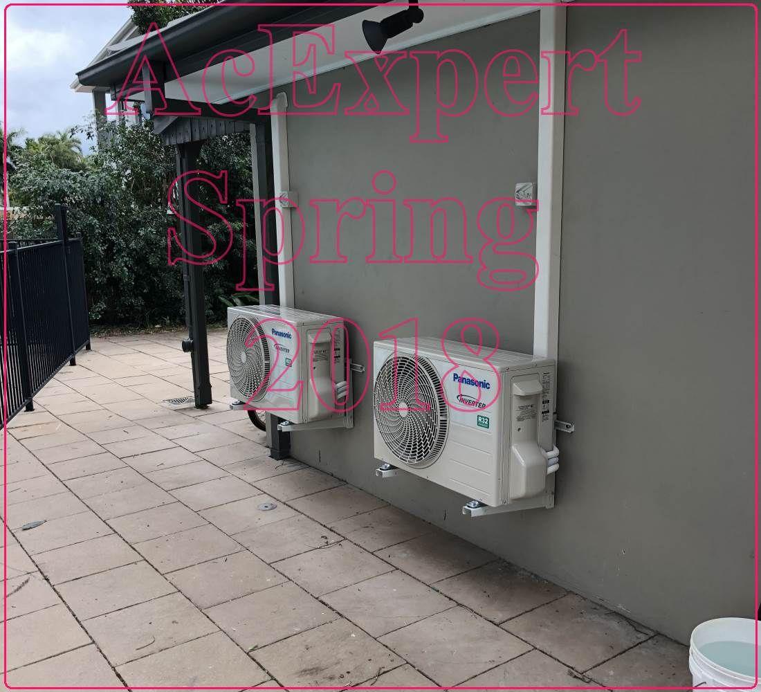 Split system air conditioner installation Brisbane Split