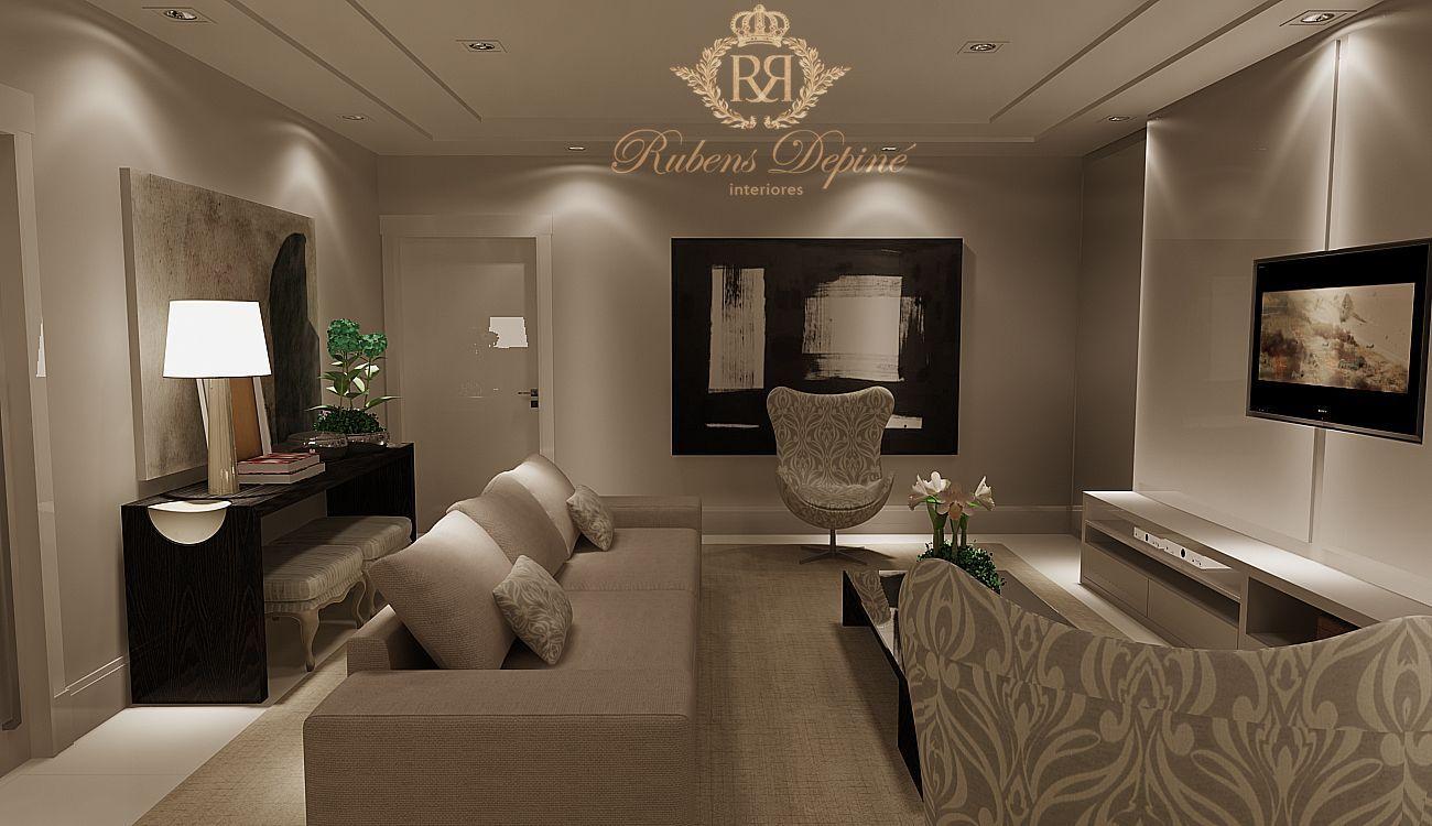 sala de tv decoraç u00e3o Pesquisa Google Decoraç u00e3o de Interiores Decor, Home Decor e Furniture -> Decoração De Interiores Salas Grandes