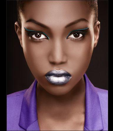 metallic silver lips  dark skin makeup womens makeup makeup