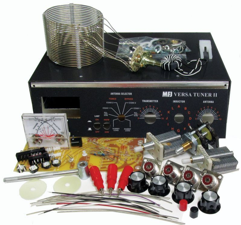 Manual tuner diy kit hf 300w w meter ham radio pinterest miss the days when you could buy do it yourself kits to build cool electronics for amateur radio solutioingenieria