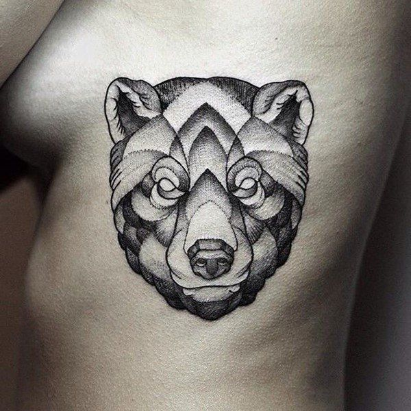 130 cute bear tattoos and meanings may 2018. Black Bedroom Furniture Sets. Home Design Ideas