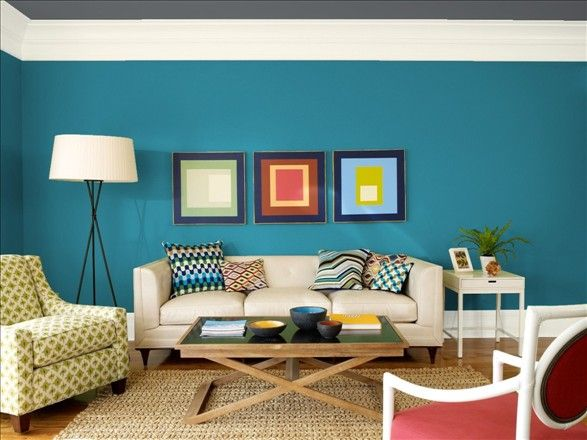 Benjamin moore galapagos turquoise around the house for Benjamin moore turquoise colors