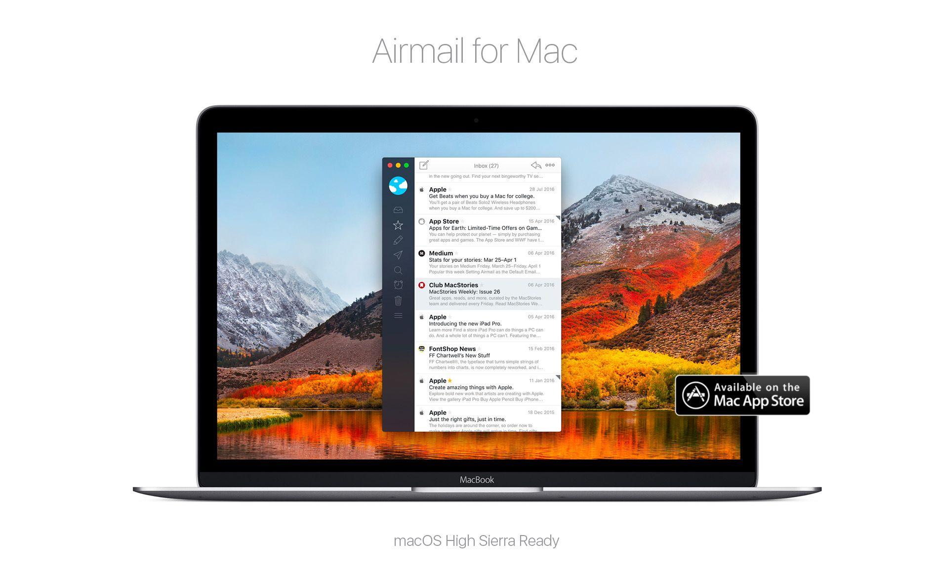 Airmail For Mac App Mac Simple App