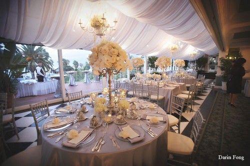 chandelier argent pour d co de mariage decoration table pinterest d co de mariage. Black Bedroom Furniture Sets. Home Design Ideas