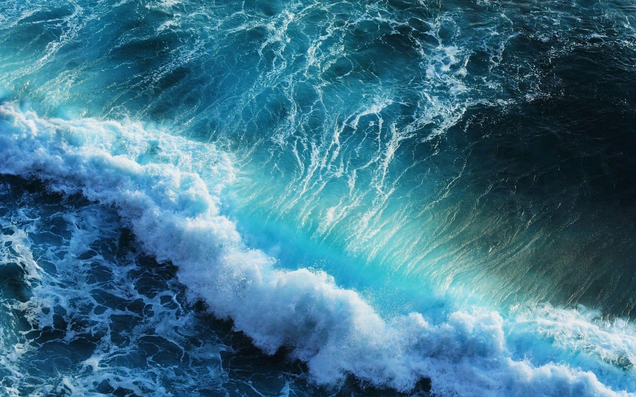 Wave Wallpaper High Resolution Ocean Waves Wallpaper ...