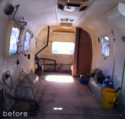 Before & After: Airstream Trailer Makeover