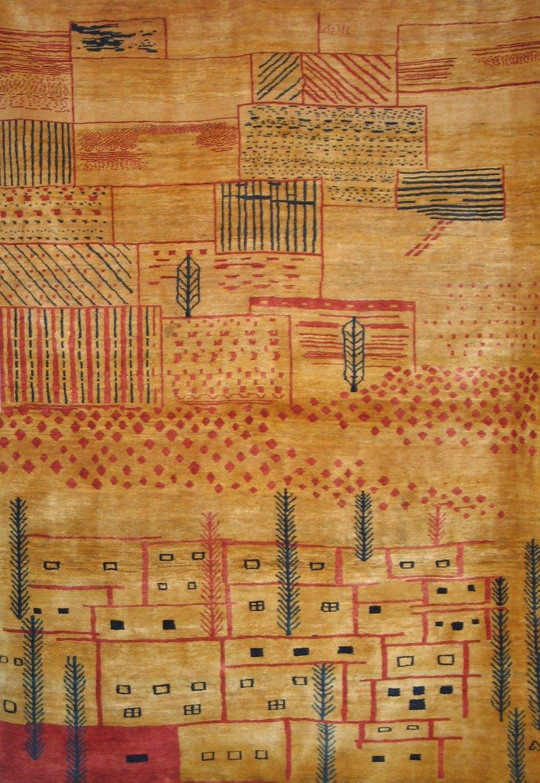 Persian Gabbeh Rug Home Decor