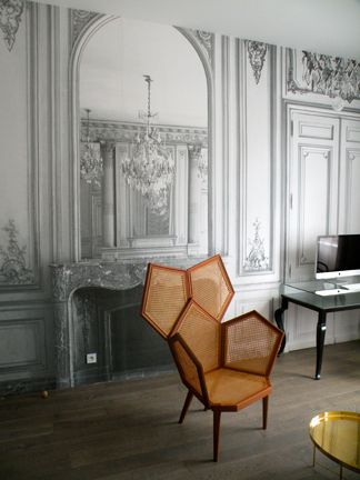 Fashion designer martin margiela designs la maison des champs elysees hotel i - Maison champs elysees hotel paris ...