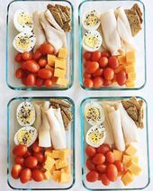 Healthy Foods on Instagram 12345 or 6   High Protein  Low Carb Lunch ideas  Swipe for 6 more easy lunch Meal Preps for the new week    Meal Preps