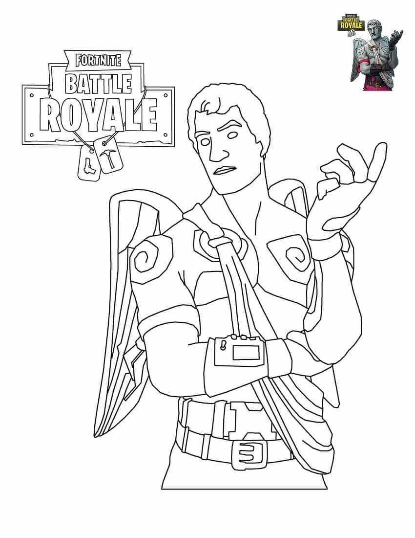 Fortnite Coloring Sheets To Print Fortnite Printables In