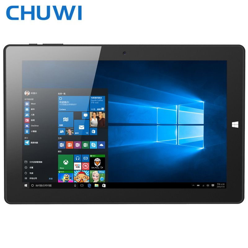 $179.99 (Buy here: http://appdeal.ru/dkke ) 2in1 keyboard design 10.1inch original CHUWI Hi10 Intel Cherry Trail Z8300 Quad core Windows10 Android5.1 4GB/64GB tablet PC IPS for just $179.99