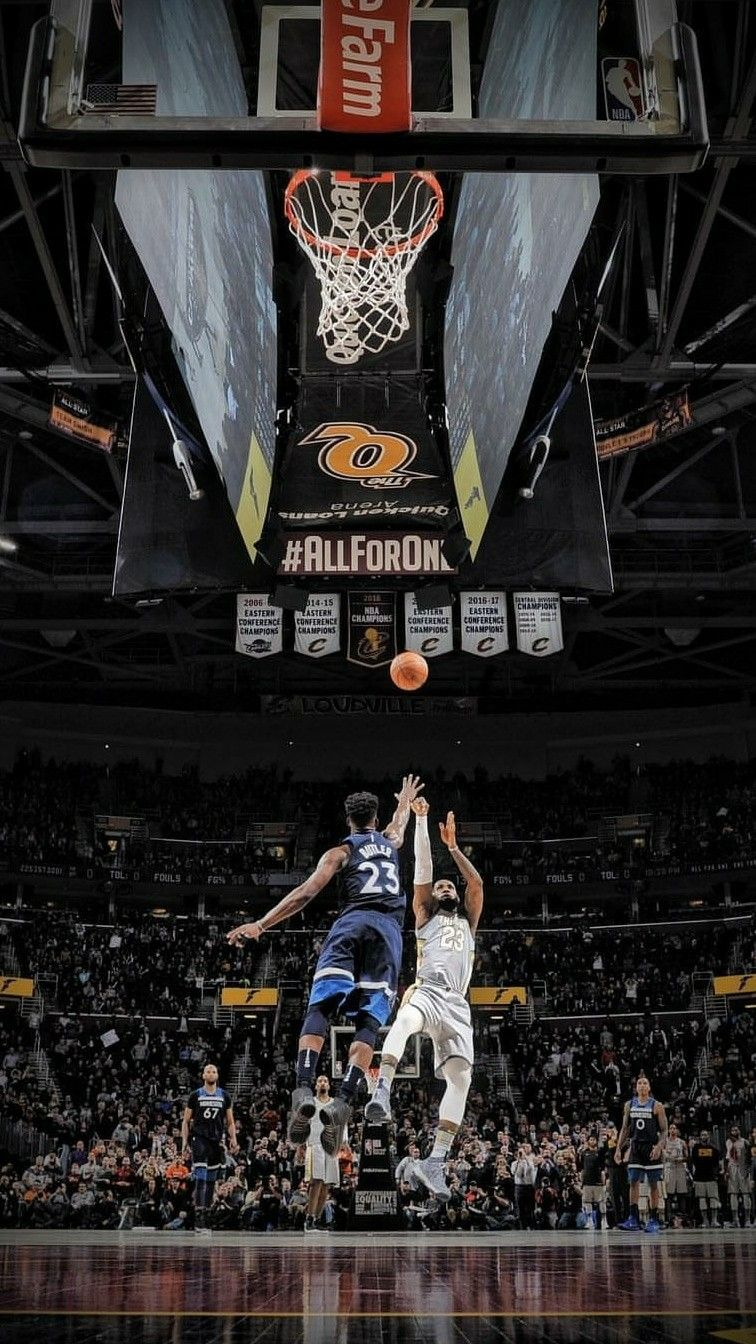 Lebron James And Jimmy Butler Basketball Pictures King Lebron Street Basketball