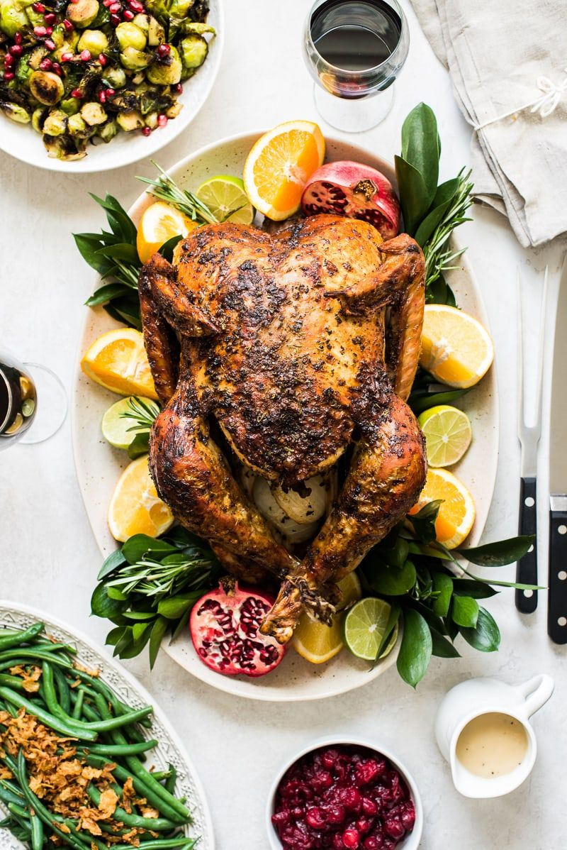 Photo of Chipotle Citrus Thanksgiving Turkey Recipe – Isabel Eats