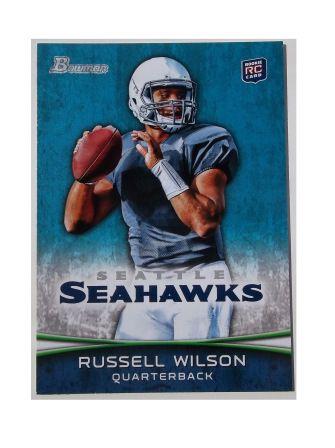 Russell Wilson Bowman Russell Wilson Football Cards