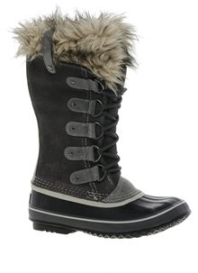 Sorel Joan of Arctic Brown Faux Fur Cuffed Boots - Brown on shopstyle.com