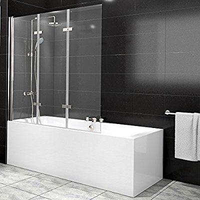 Duschabtrennung Badewanne Duschwand Badewannenfaltwand Glas Dusche ...   {Duschabtrennung 33}