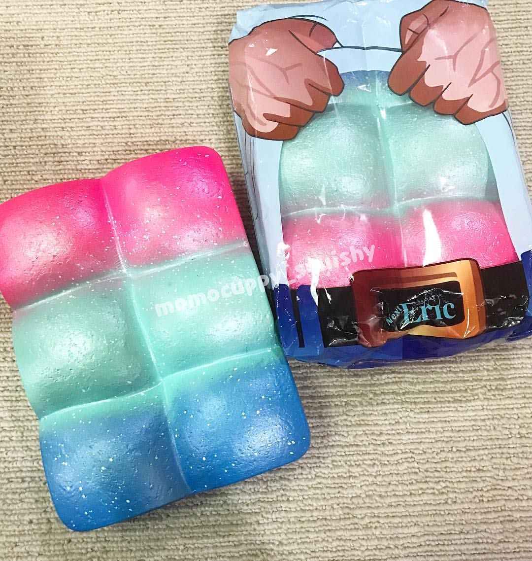 galaxy muscle bread by eric 170rb / pcs super slow, soft and scented   BNIP, please note all the ...