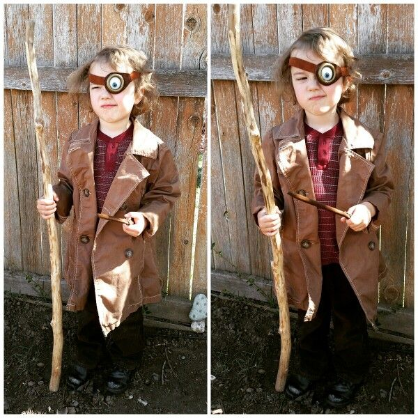 Tiny Alastor Quot Mad Eye Quot Moody Costume Www Elfwoodtreasures