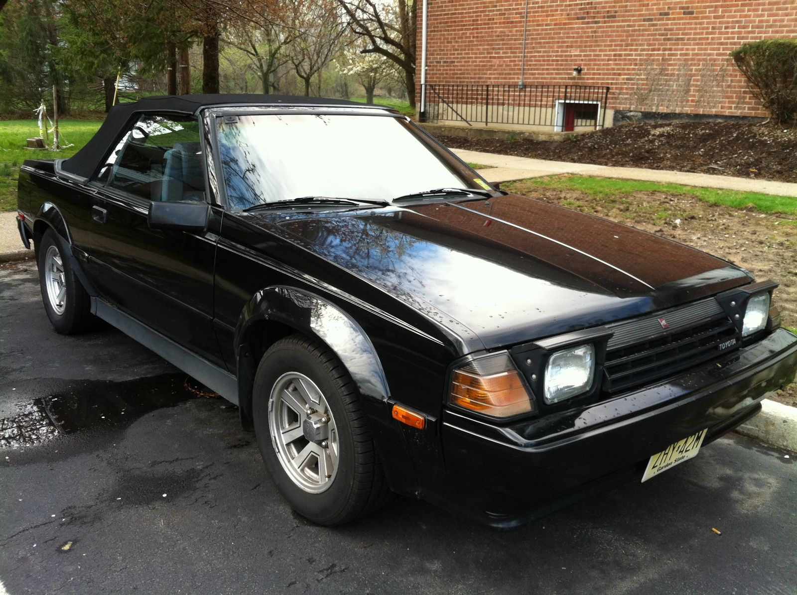 1985 Toyota Celica GTS convertible  toyota  Pinterest