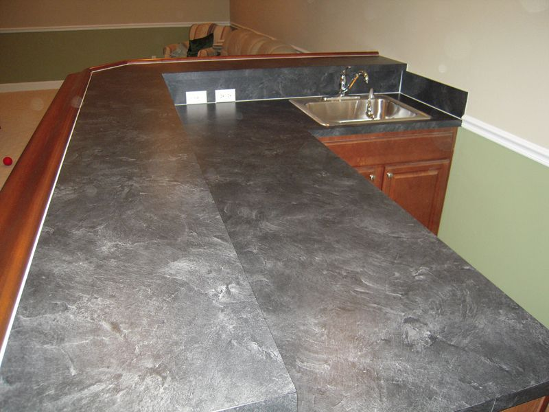 Superbe LAMINATE COUNTERTOP THAT LOOKS LIKE SLATE | Formica Basalt Slate