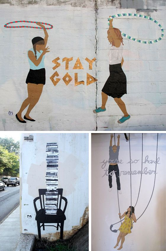 amazing street art by the paper twins