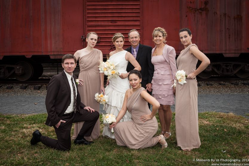 50+ Wedding party photos with parents ideas