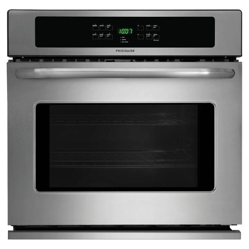 Frigidaire double oven wall mount single electric wall