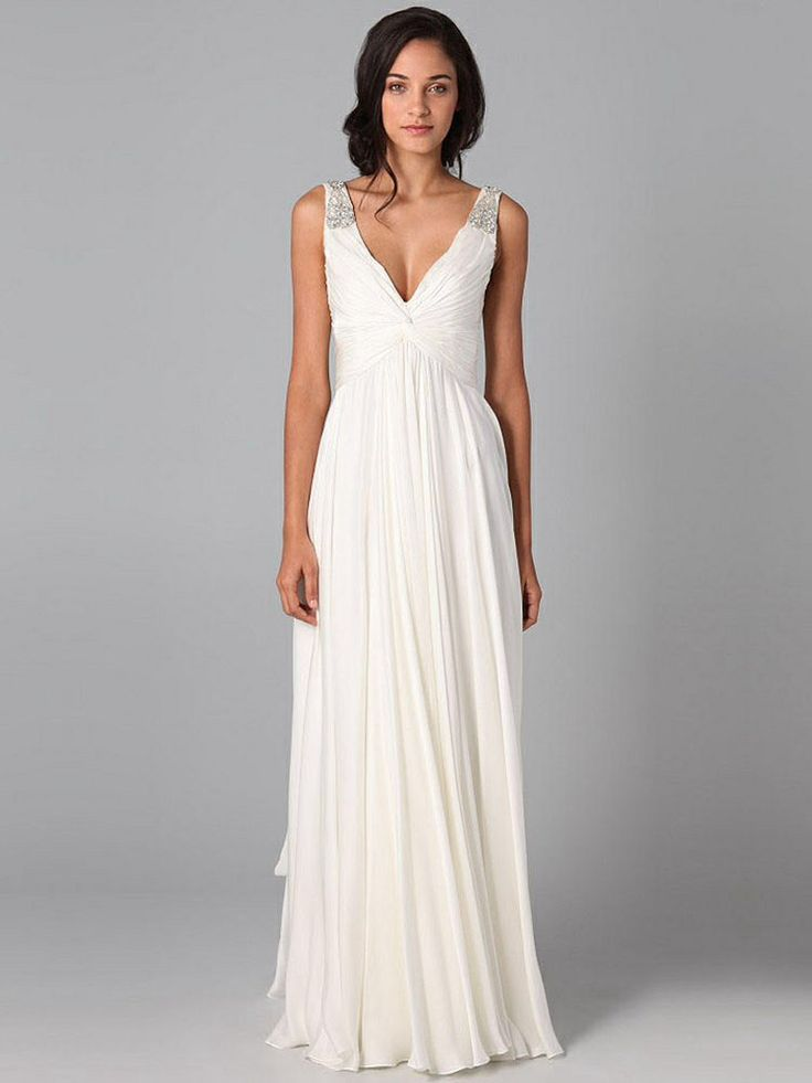 Second marriage dress on pinterest second wedding for Simple second wedding dresses
