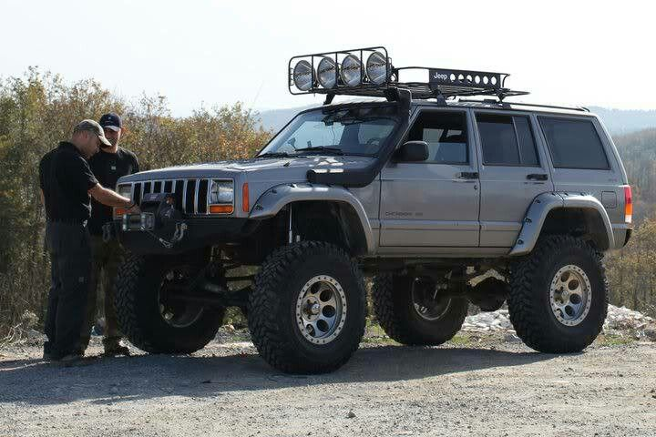 All Decked Out Jeep Cherokee Xj Jeep Cherokee Jeep