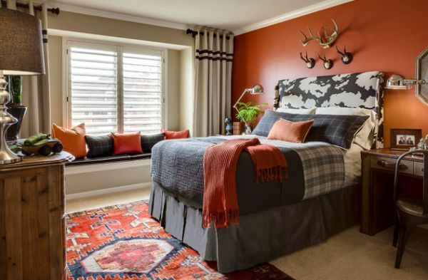 Cool Boys Room Paint Ideas For Colorful And Brilliant Interiors Boy Room Paint Gray Bedroom Walls Cool Bedrooms For Boys Kids room design orange gray