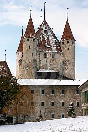Schloss Thun Switzerland Castillos Castillos Encantados Arquitectura