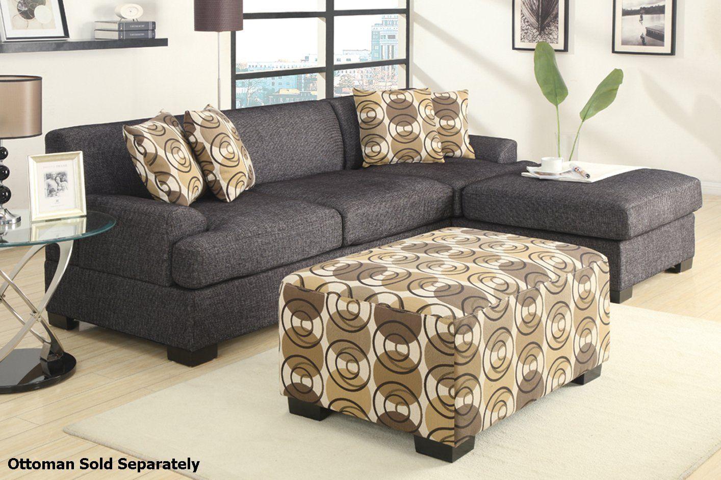 Prime Montreal Ii Grey Fabric Sectional Sofa Home Ideas In 2019 Evergreenethics Interior Chair Design Evergreenethicsorg