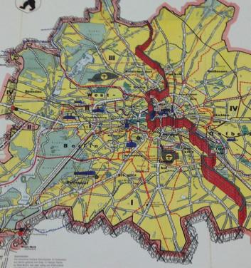 Pin By Shelley Swinney On Maps Pinterest Berlin Wall Berlin - Berlin map east west