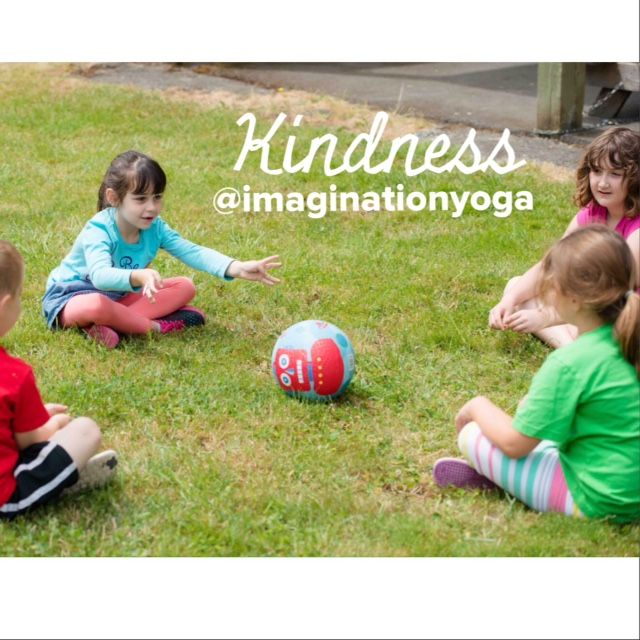 Why kids yoga? KINDNESS Yoga can be the antidote to bullying by teaching kindness. Yoga intentionally practices compassion before conflict. #BoldlyKind #StrongAndKind #FreeToBeKind #FindingKind #Namaste #yoga #whykidsyoga #kindness #antibullying