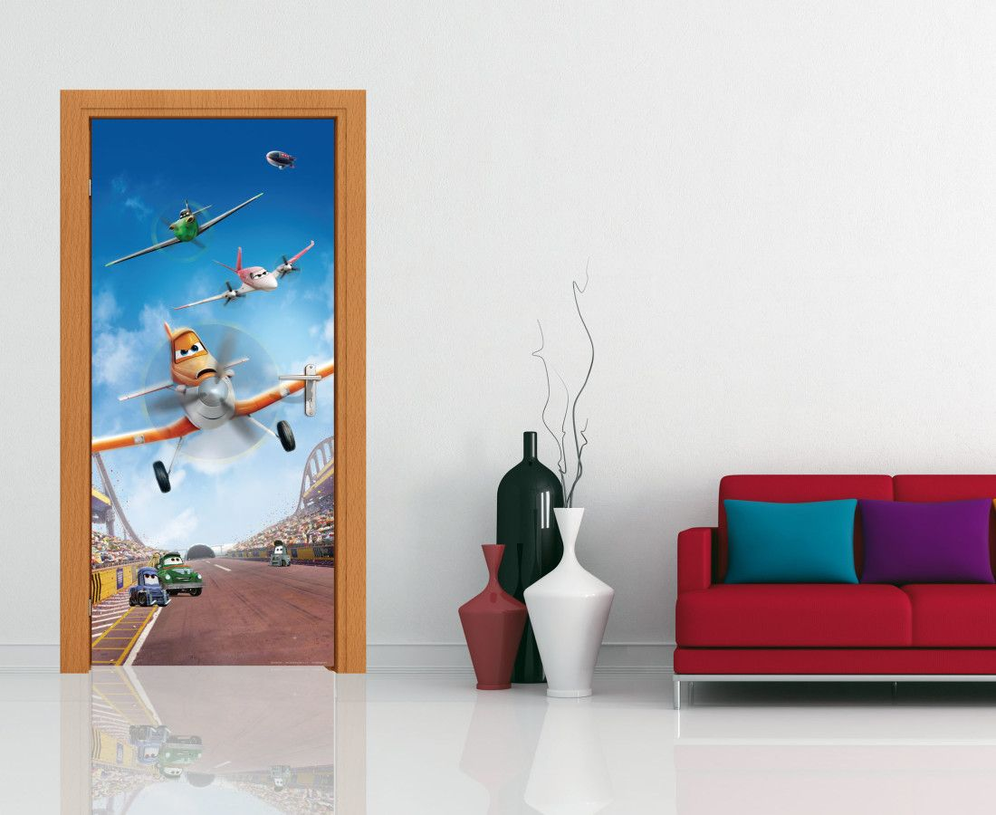Disney Planes in Action Wall Mural and Door Mural by WallandMore ...