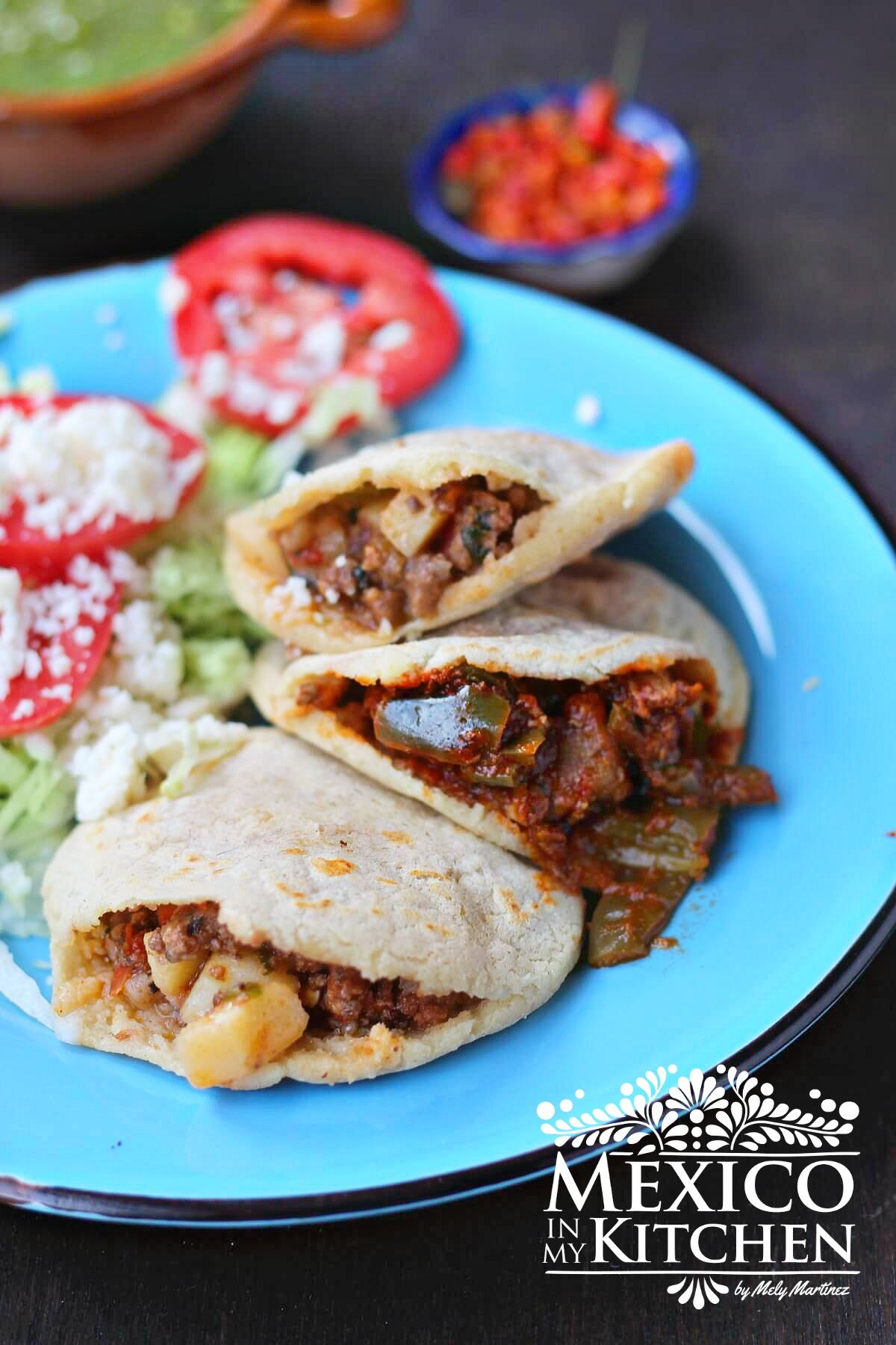Gorditas Recipe How To Make Gorditas Tutorial Mexico In My