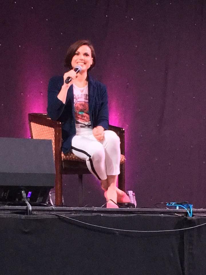 Awesome Lana #Storybrooke3UKCon #panel #Blackpool #England #UK Saturday 4-29-17