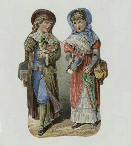 Victorian diecut