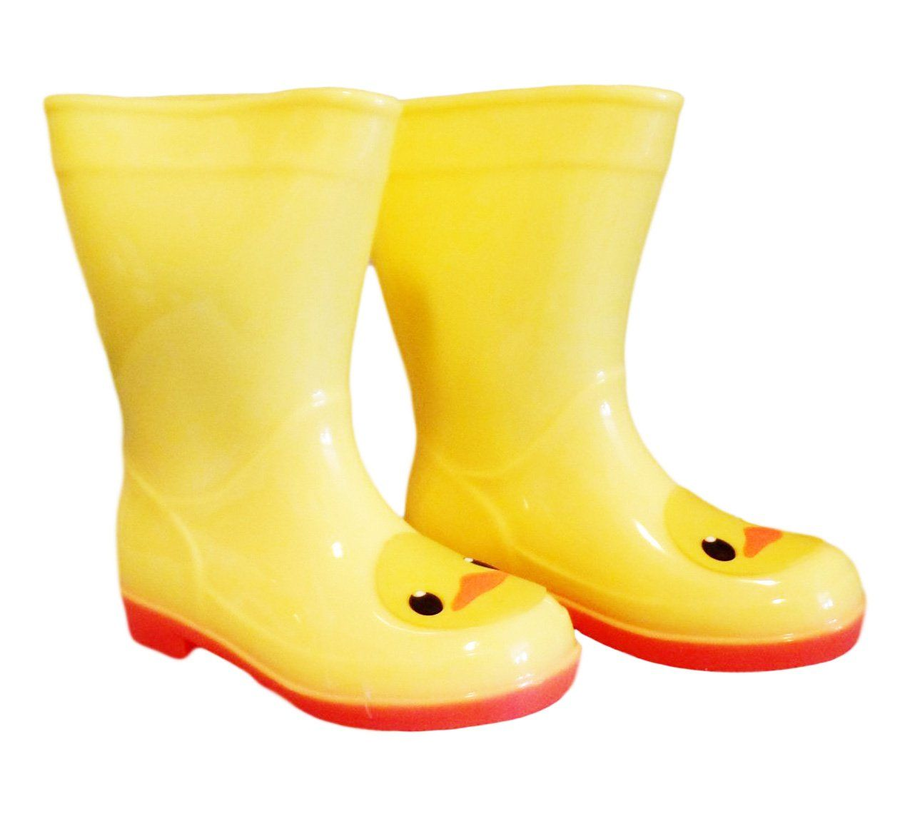 Soho Kids Children S Rubber Cute Animal Rain Boot 5 M Us Toddler Duck Built To Keep Little Feet Dry They Are Waterproof Rain Boots Boots Rubber Rain Boots