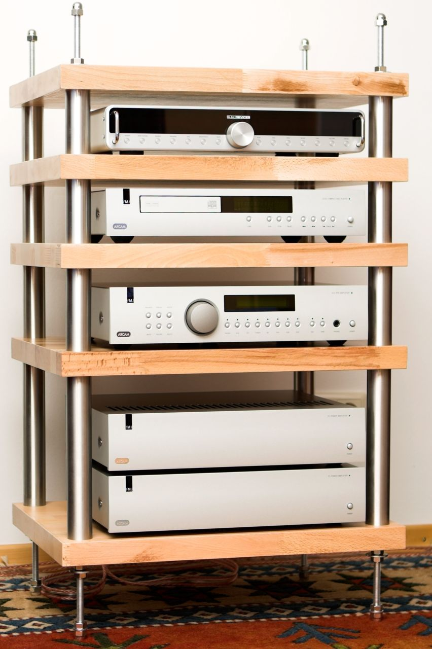 Hifi Rack Design Mein Rack Hifi Forum Furniture Audio Rack Diy Rack Diy