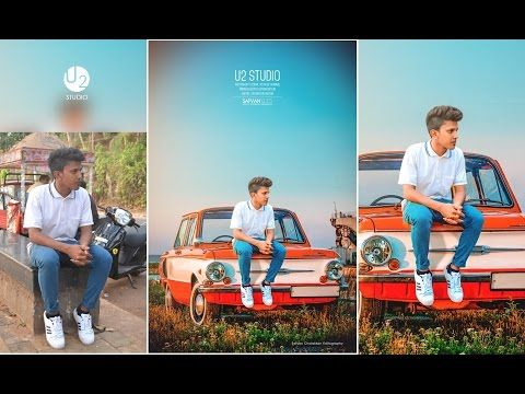 How To Change Overcast Photos Into Awesome In Photoshop Add Sunset To Boring Sky Easily Photoshop Tutorial Photo Editing Photo Editing Photoshop Photography