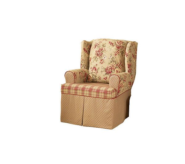 Fine Sure Fit Lexington Wing Chair Slipcover Country Decor Pdpeps Interior Chair Design Pdpepsorg