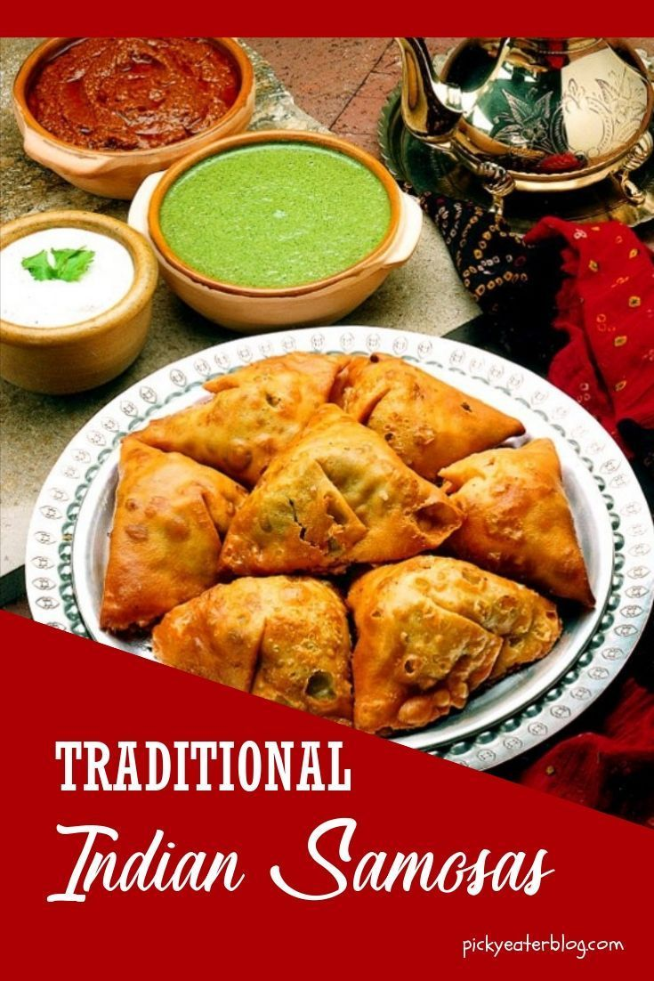 Traditional Indian Samosas