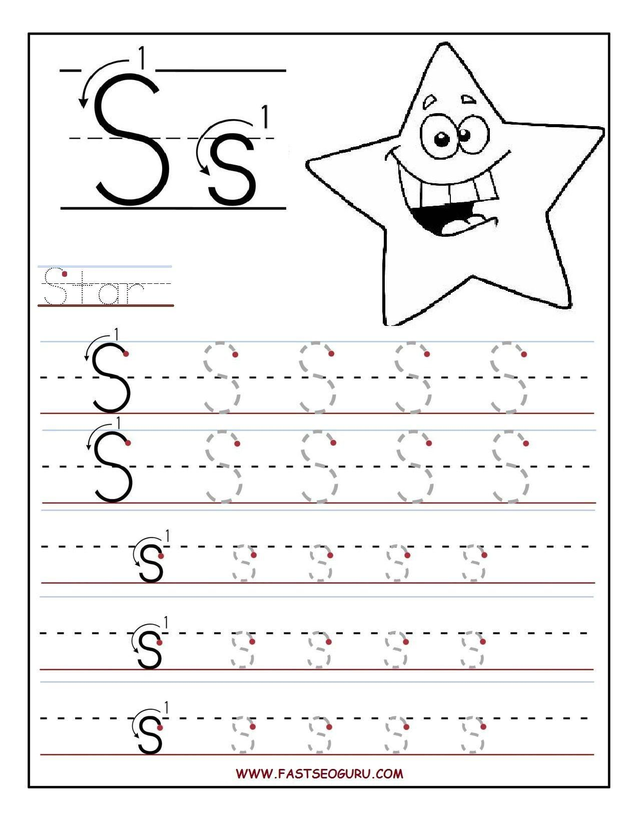 Awesome Letter S Worksheets That You Must Know You Re In