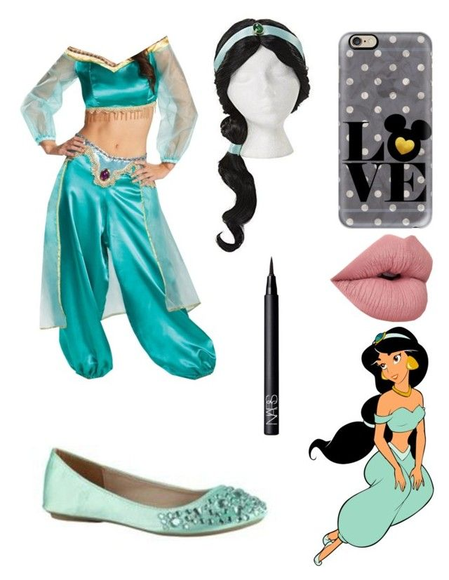 """Jasmine costume!"" by glittergirl04 ❤ liked on Polyvore featuring Disney, Casetify, NARS Cosmetics and halloweenglittergirl04"