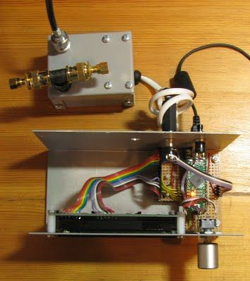Power and SWR Meter with dual bargraphs and sticky bar