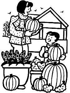 423 Free Printable Autumn And Fall Coloring Pages Primary GamesFall