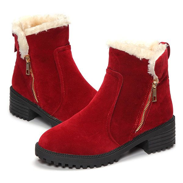 ca5055860a79 Women Winter Snow Boot Keep Warm Comfortable Outdoor Casual Ankle Short  Boots - Banggood Mobile
