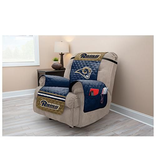 Admirable Officially Licensed Nfl Recliner Protector Rams Recliner Ocoug Best Dining Table And Chair Ideas Images Ocougorg